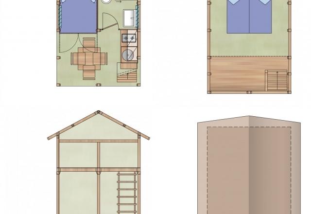 Planimetria Lodge Tent Airsuite