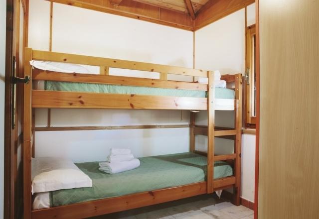 Chambre avec lits superposés Bungalow Torre del Porticciolo