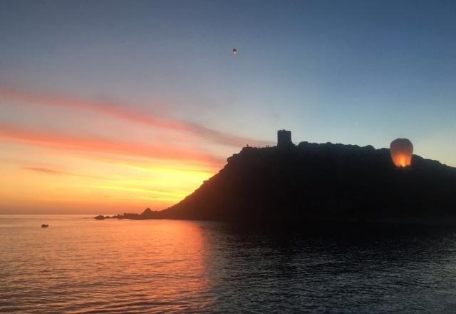 Le ultime luci del tramonto