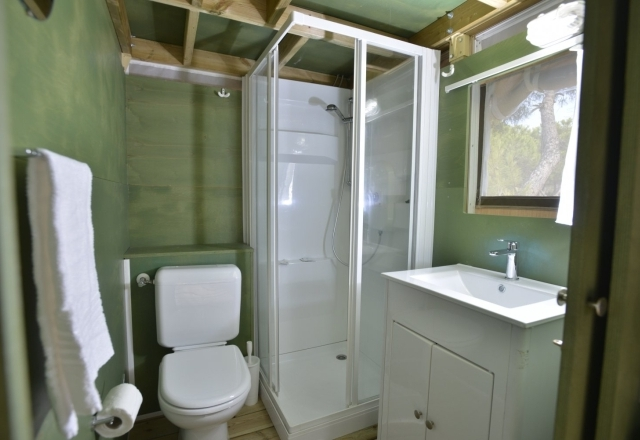 Toilette Lodge Tent Air Suite