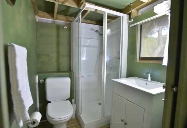 Toilette Lodge Tent Air Suite