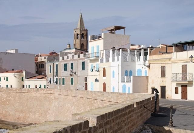 Case del centro storico sui bastioni